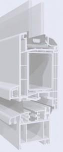 Bejárati ajtó profil